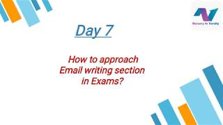 How to write effective mails in competitive exams?-1 | email | tutorial | free online course