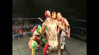 Chikara King of Trios 2010 - The Colony vs. B.D.K