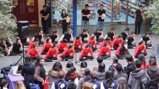 Warwick MSA Dikir Barat @ One World Week: The Bazaar 2014