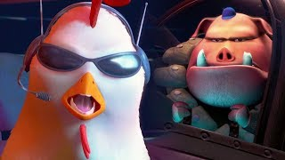 Chicken Little Ace in Action All Cutscenes | Full Game Movie (Wii, PS2)