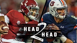 Head to Head: The Iron Bowl