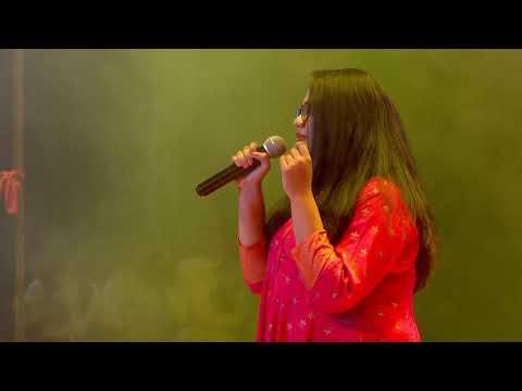 JKSC Aavishkar 2019 Ami Je Tomar Jhanvi Singing  Bhool Bhulaiya