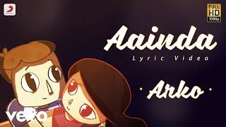 Aainda - Official Lyric Video | Arko
