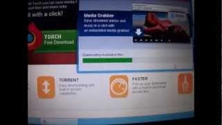 torch browser ,how to download movies (beginners)