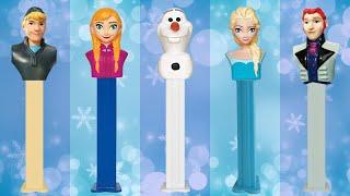 Frozen Pez Dispenser Finger Family Nursery Rhyme ★ Frozen Song Parody ★ Daddy Finger Where Are You