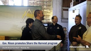 Gov. Nixon calls on hunters to donate to Share the Harvest