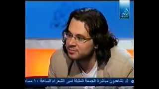 الشاعر تميم البرغوثي في أمير الشعراء 1