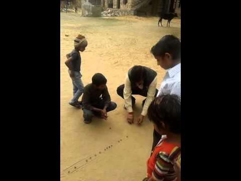 Goti kancha playing