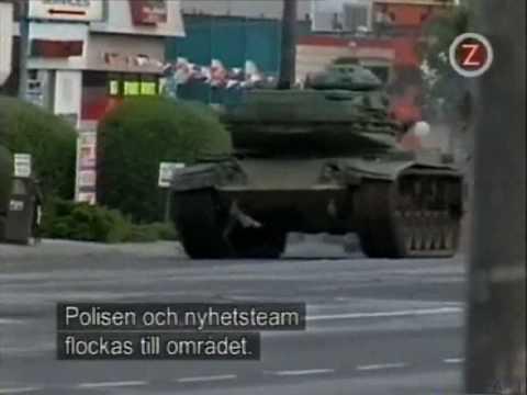 watch Worlds Wildest Police Videos - Crazy Tank Runaway