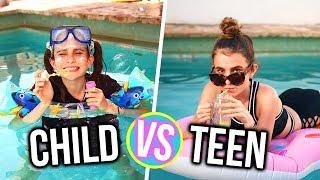 CHILD VS TEEN 5!! Lovevie & Tatiana Boyd