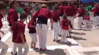 20140713 - 08 - Ball de la Polka - Festa Major de Polinyà - Capgirats - Castellers de Castellar