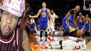 LMAO CURRY JUST ETHERED KOBE & CP3!! FILTHIEST NBA SHOTS OF ALL TIME REACTION!