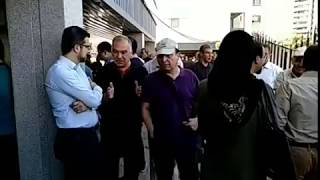 Iran, Téhéran; Funerailles d'Amir Entezam, ancien ministre iranien qui s'est opposé aux mollahs