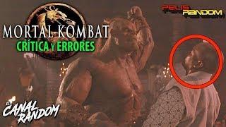 Errores de peliculas Mortal Kombat Fallos y Crítica WTF PQC (1995)