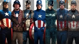 The Evolution of Captain America's Suit In Modern Movies