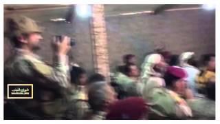 شاهد اللواء الأمير فهد بن تركي قائد  #القوات_الخاصة في# مأرب  اليوم 2016/3/17