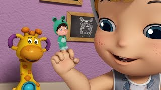Finger Family Rhymes with Slate | Rhymes for Kids | Infobells