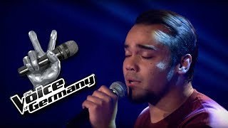 Lost Stars - Adam Levine   Robert Ildefonso Cover   The Voice of Germany 2016   Blind Audition