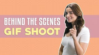 Behind the scenes of my GIF shoot | Alia Bhatt