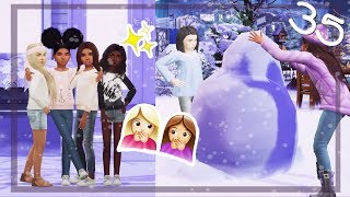 SNOWPAL'S ☃️❄️  RUNAWAY TEEN PREGNANCY CHALLENGE   The Sims 4   Ep.35
