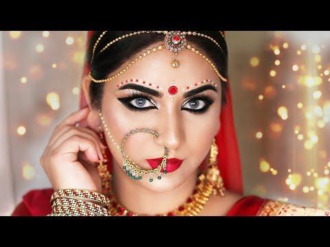 Xxx Mp4 Glamorous Bengali Bridal Makeup Indian Bridal Makeup Tutorial SmithaDBeauty 3gp Sex