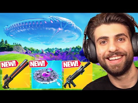 Everything Epic Didn t Tell You In Fortnite Season 7 UFO Vehicles New Items Map Change MORE