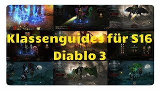 Diablo 3: Die Besten Klassen für Season 16 (Meta, Saison des Prunks)