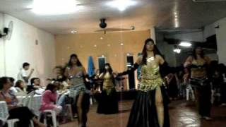 squeezed belly dance