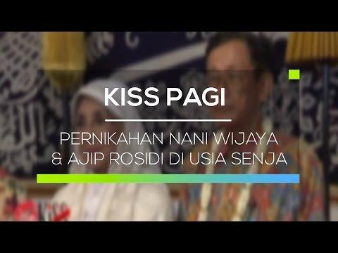 Pernikahan Nani Wijaya dan Ajip Rosidi di Usia Senja Kiss Pagi