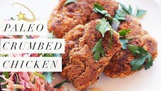 Paleo Crumbed Chicken Recipe (GF, DF)