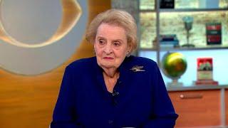 Madeleine Albright talks fascism, most undemocratic president