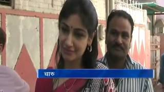 LS polls: Mathura candidate Jayant Chaudhary's wife Charu casts her ballot