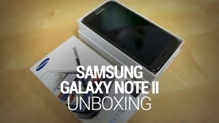 Samsung Galaxy Note II Unboxing & Hands On!