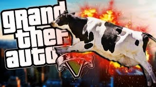 BE ONE WITH THE ANIMALS! | Grand Theft Auto V (PC) #3