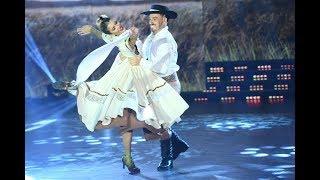 ¡Qué nervios! Así bailaron el Folclore, Fede Bal y Laurita Fernández