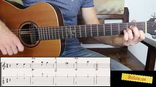 Getting Started with Fingerstyle. Easy Melody for Beginners.