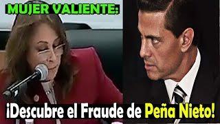 ¡Diputada Mexicana destapa del fraude de la reforma energética!
