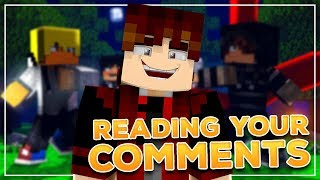 Tokyo Ghoul: Rebirth - READING YOUR COMMENTS #1 (Minecraft Roleplay)