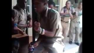 Jamaican school boys freestyle....calabar quada clash....YGR gang tr8888 ^_^......
