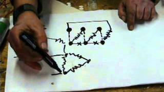 How to do it: run a 3 phase motor on single phase supply. part 1