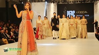 PFDC Loreal Bridal Fashion Week Lahore Pakistan 2016   Hadiqa Kiani Performance