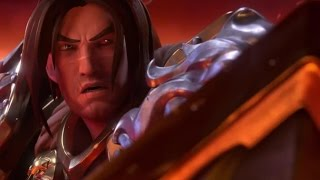 """Heroes of the Storm: Varian and Ragnaros """"Forged By Fire"""" Animated Trailer - Blizzcon 2016"""
