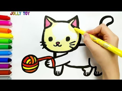 Xxx Mp4 Drawing And Coloring For Kids Toddlers I How To Draw JollyToyArt 3gp Sex