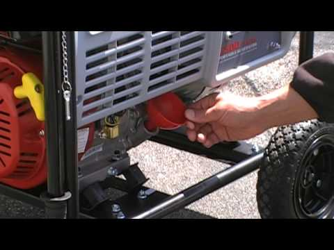 How To Start a Portable Generator Electric Start