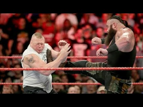 Xxx Mp4 WWE New 17 September 2018 Brock Lesnar Vs Braun Strowman Full Match HD 3gp Sex