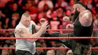 WWE new 17 September 2018 brock lesnar vs Braun Strowman full match HD