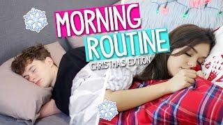 MORNING ROUTINE: Christmas Edition 2016! (Boy vs Girl)