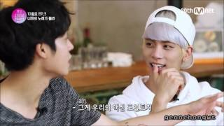 SHINee Jonghyun & Jung Joon Young Moments [Monthly Live Connection] 4 Walls