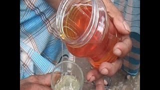 মধু খাটি না ভেজাল, চিনবেন কিভাবে? এক চাচা চিনাবেন খাঁটি মধুHow to test if Honey is pure,adulterated