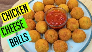 Chicken Cheese Balls   Ramadan Recipes   Indian Cooking Recipes   Cook with Anisa